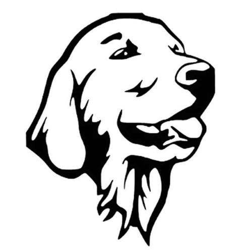 Labrador Retriever 1009 Vinyl Sticker