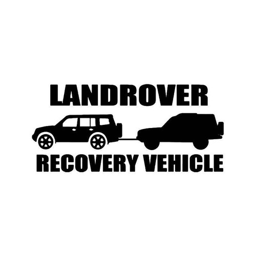 Land Rover Recovery Vehicle Vinyl Sticker