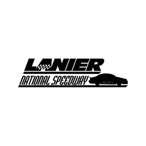 Lanier National Speedway Vinyl Sticker