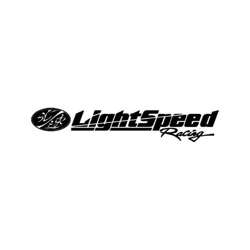 Lightspeed Racing 2 Vinyl Sticker
