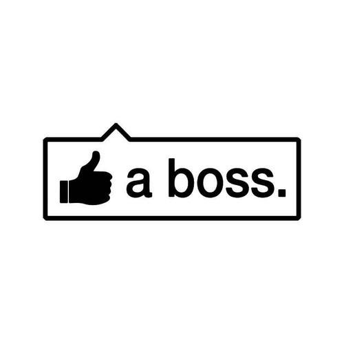 Like A Boss Jdm Japanese 3 Vinyl Sticker