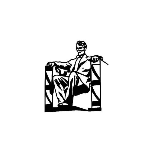 Lincoln Memorial 2 Vinyl Sticker