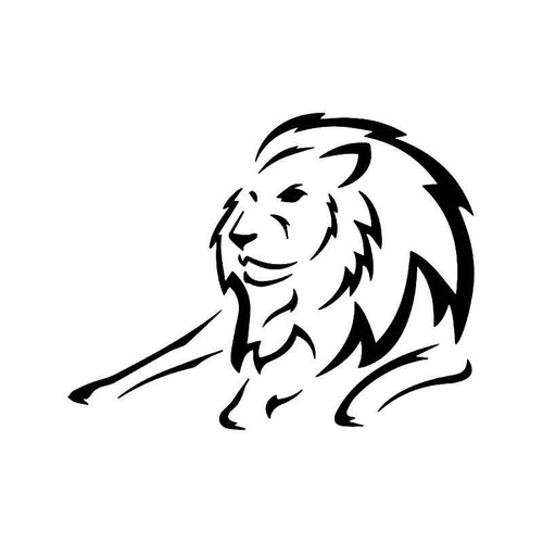 Lion Animal 2 Vinyl Sticker