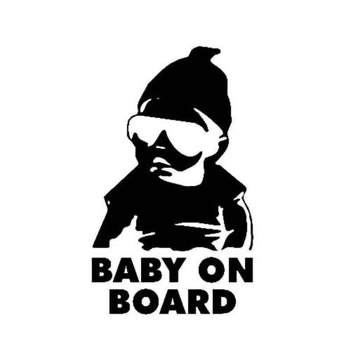 Los Baby On Board 1855 Vinyl Sticker