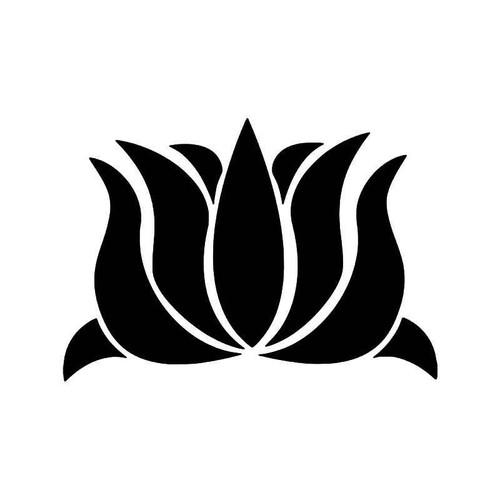 Lotus Flower Feng Shui Symbol Vinyl Sticker