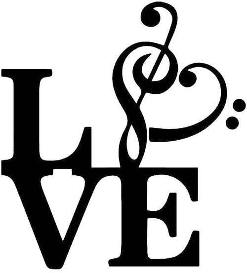 Love Music Note