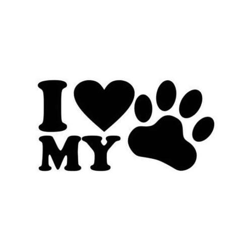 Love My Pet 543 Vinyl Sticker