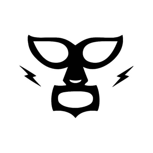 Luchador Mexican Wrestler Mask Vinyl Sticker