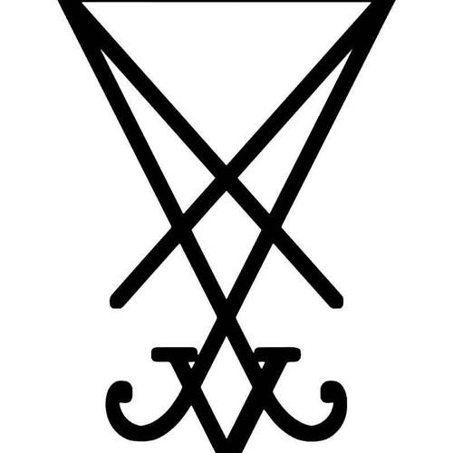 Lucifer Sigil Vinyl Sticker