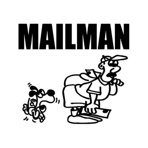 Mailman Vinyl Sticker