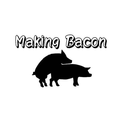 Making Bacon Sex Pigs Vinyl Sticker