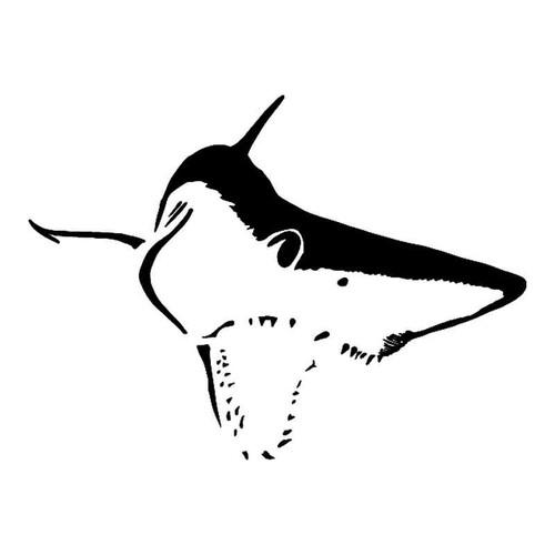 Mako Shark Attack Vinyl Sticker