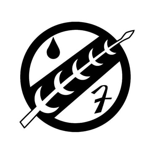 Mandalorian Crest Emblem Vinyl Sticker