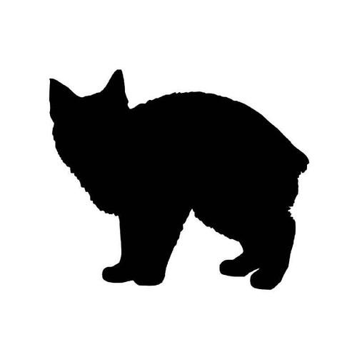 Manx Cat Vinyl Sticker