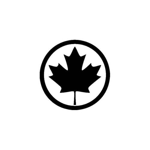 Maple Leaf Canada 2 Vinyl Sticker