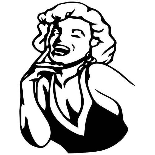 Marilyn Monroe 4 Vinyl Sticker