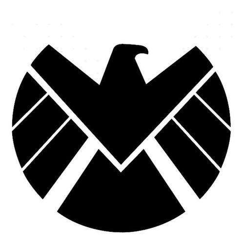 Marvel Agents Of Shield Symbol Vinyl Sticker