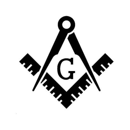 Masonic Tools Vinyl Sticker