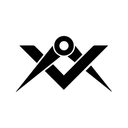 Masonic Tools Freemason Vinyl Sticker
