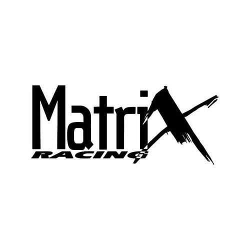 Matrix Racing Vinyl Sticker
