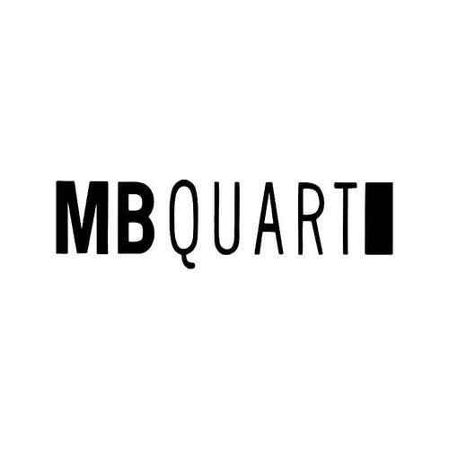 Mb Qu Logo Vinyl Sticker