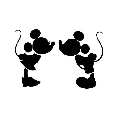 Mickey Minnie Mouse Vinyl Sticker