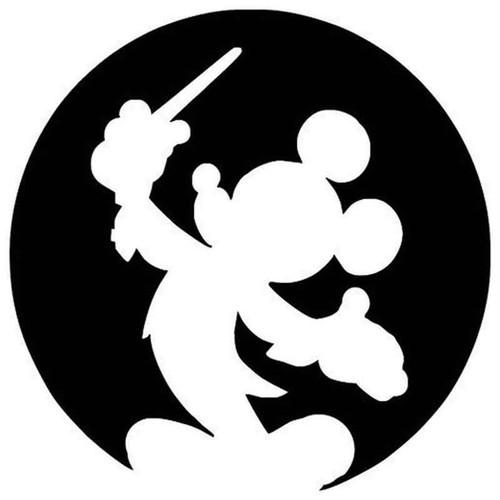 Micky Mouse 1158 Vinyl Sticker