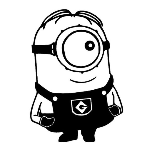 Minion 154 Vinyl Sticker