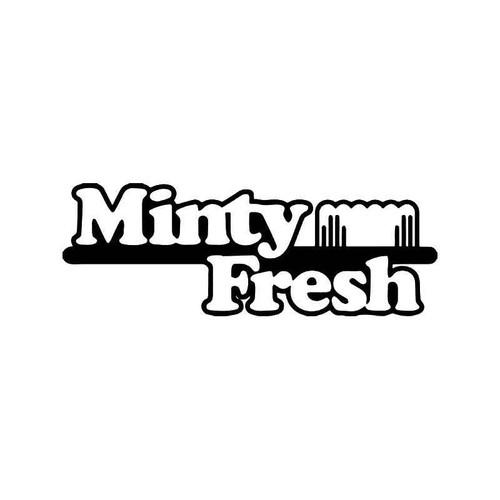Minty Fresh Jdm Japanese Vinyl Sticker