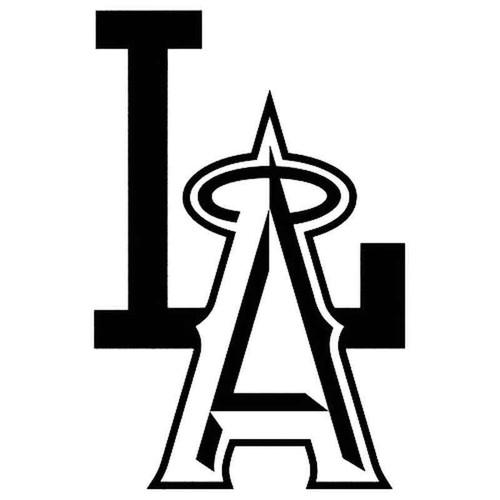 Mlb Los Angeles Angels 1082 Vinyl Sticker