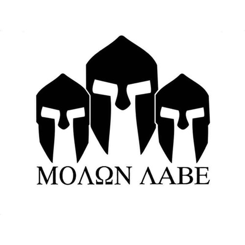 Molon Labe 1041 Vinyl Sticker