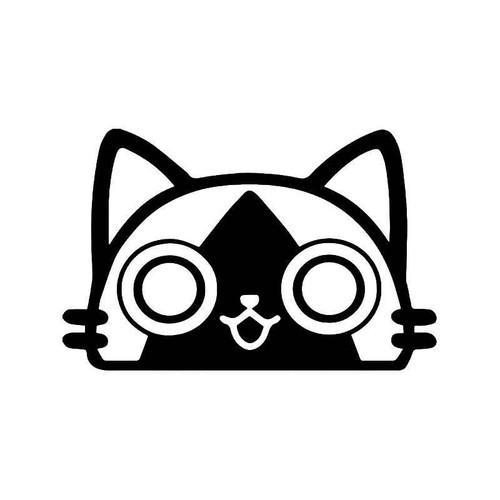 Monster Hunter Felyne Palico Cat Gaming Vinyl Sticker