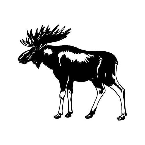 Moose 3 Vinyl Sticker