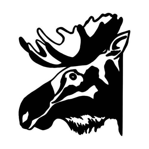 Moose Animal 2 Vinyl Sticker