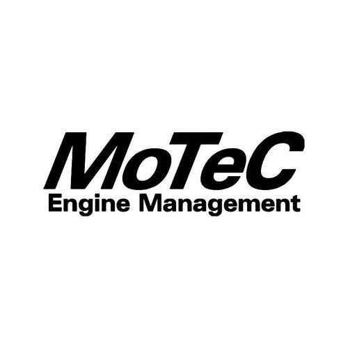 Motec Engine Management Vinyl Sticker
