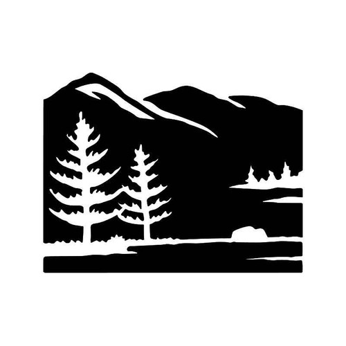 Mountain 1 Vinyl Sticker