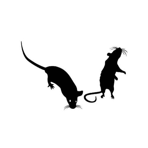 Mouse Vinyl Sticker