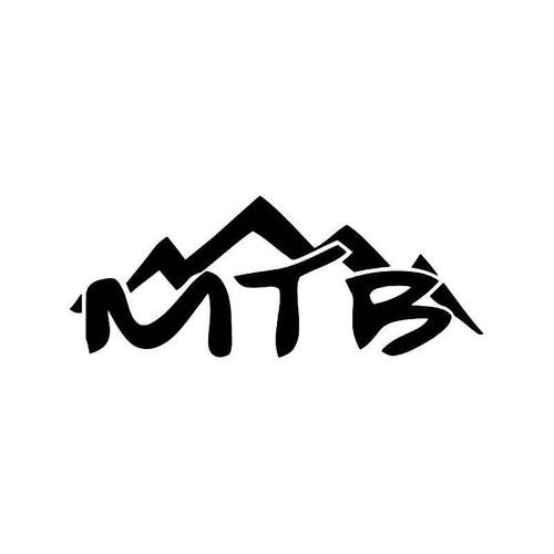 MTB Downhill Mountain Bike Vinyl Decal