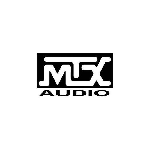 Mtx Audio Logo 1 Vinyl Sticker