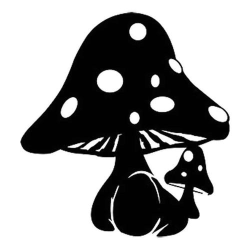 Mushroom 510 Vinyl Sticker