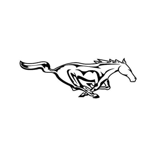Mustang Horse Vinyl Sticker