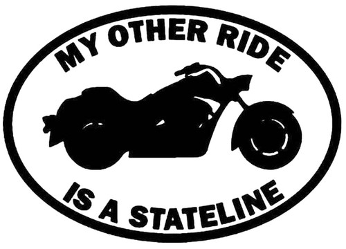 My Other Ride is a Honda Stateline Motorcycle