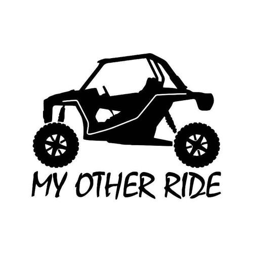 My Other Ride Utv Vinyl Sticker