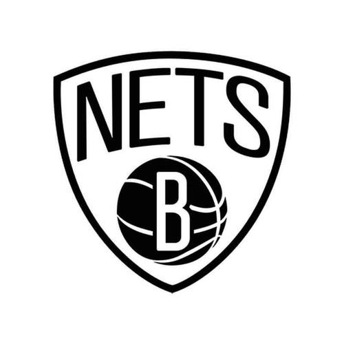 Nba Brooklyn Nets 933 Vinyl Sticker