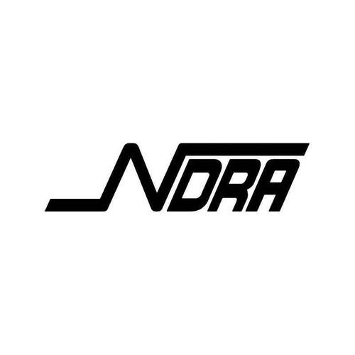 Ndra Drag Racing Vinyl Sticker