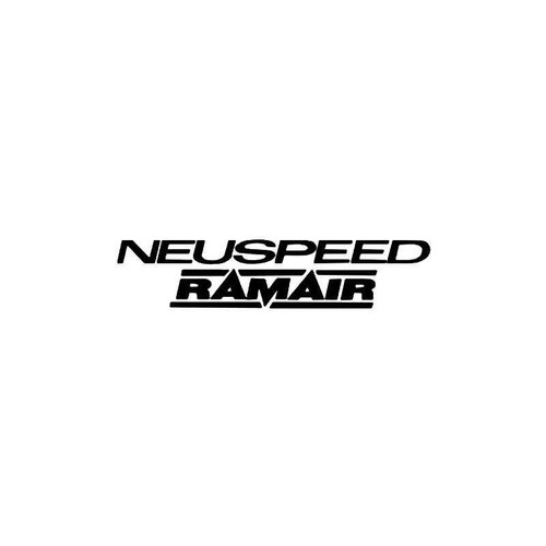 Neuspeed Ramair Vinyl Sticker