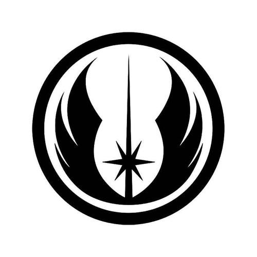New Jedi Order Emblem Vinyl Sticker