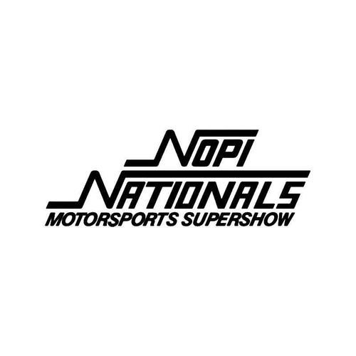 Nopi Nationals Vinyl Sticker