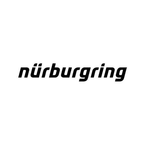 Nurburgring Jdm Japanese Vinyl Sticker