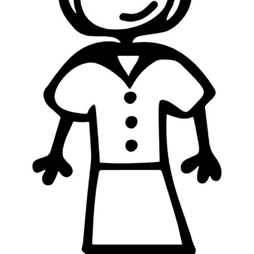 Nurse Stick Family Vinyl Sticker